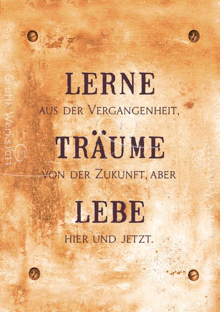 Art Nr 9389 Postkarte Lerne Spruche Zitate Spruche Zitate