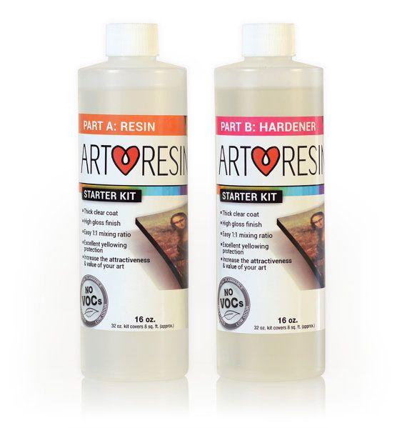 ArtResin 32 oz Epoxy Resin like clear nail polish by ArtResinInc
