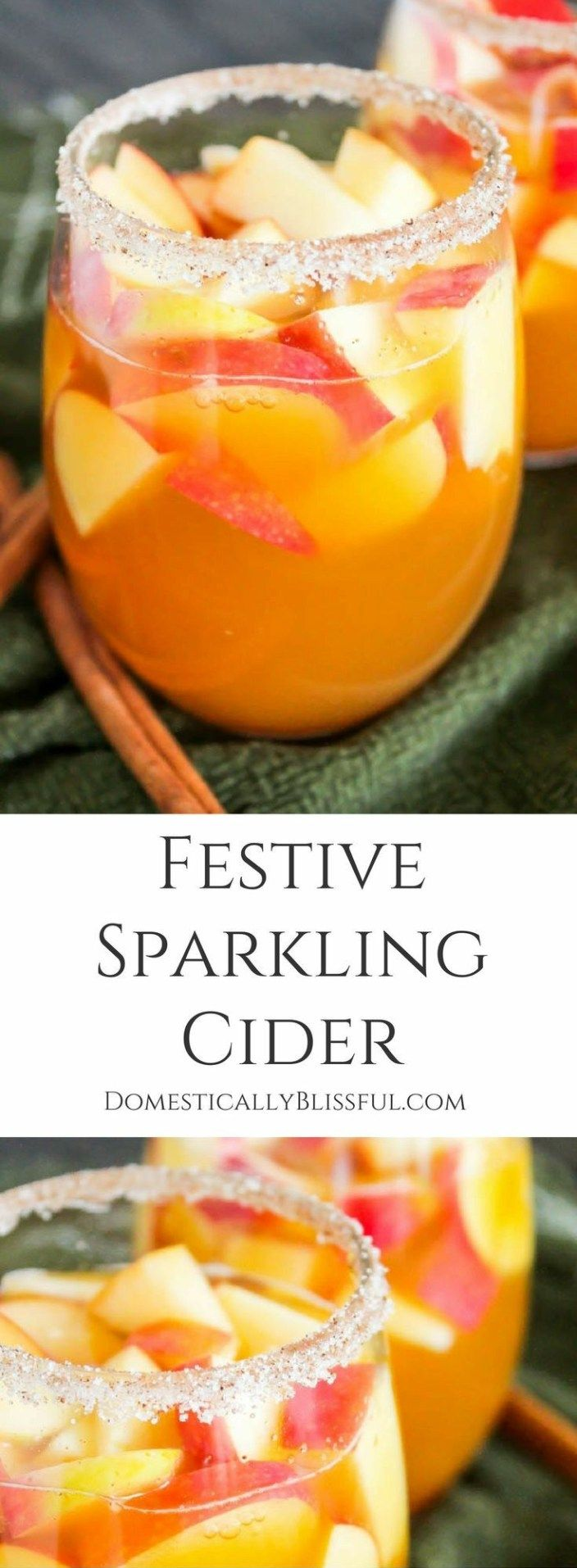 32 Non-Alcoholic Christmas Drinks Great for Parties #thanksgivingdrinksalcohol