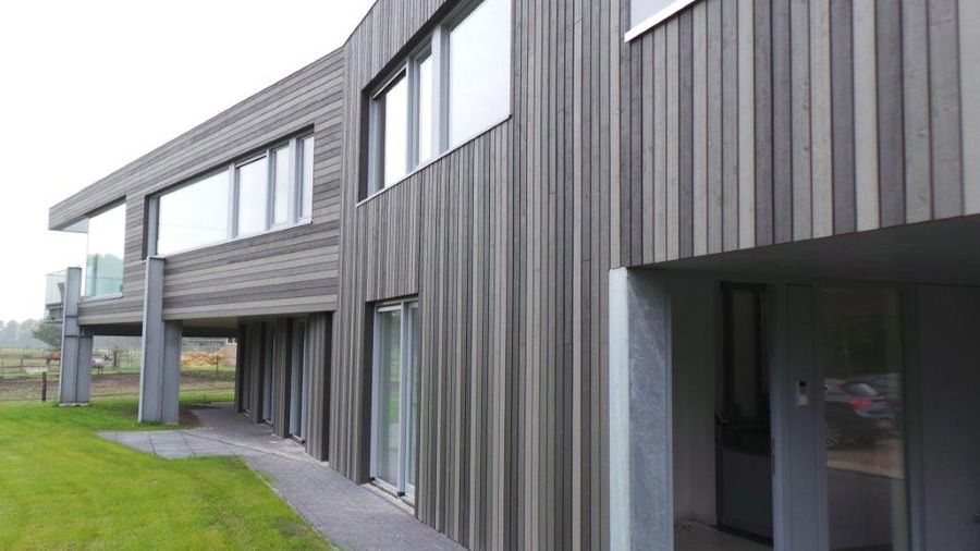Cape Cod Cladding 3 Grey Colour House Profile Ex 150mm