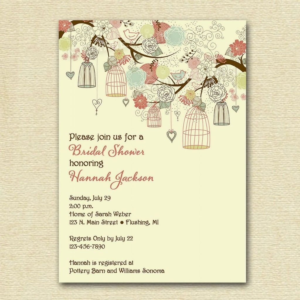 Decline Wedding Invitation Sample: Really Unique Outdoor Bridal Couples Wedding Shower