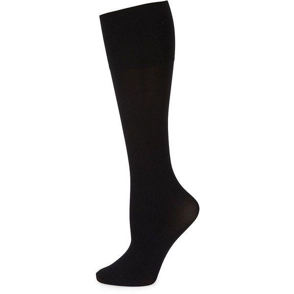 Knee length socks nude