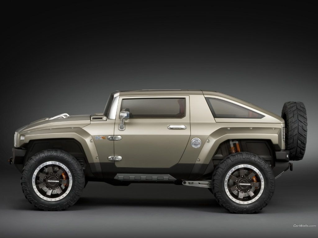 Hummer s 2008 hx concept that they never built i saw it in person in detroit and it was definitely a watershed in off road aesthetic design