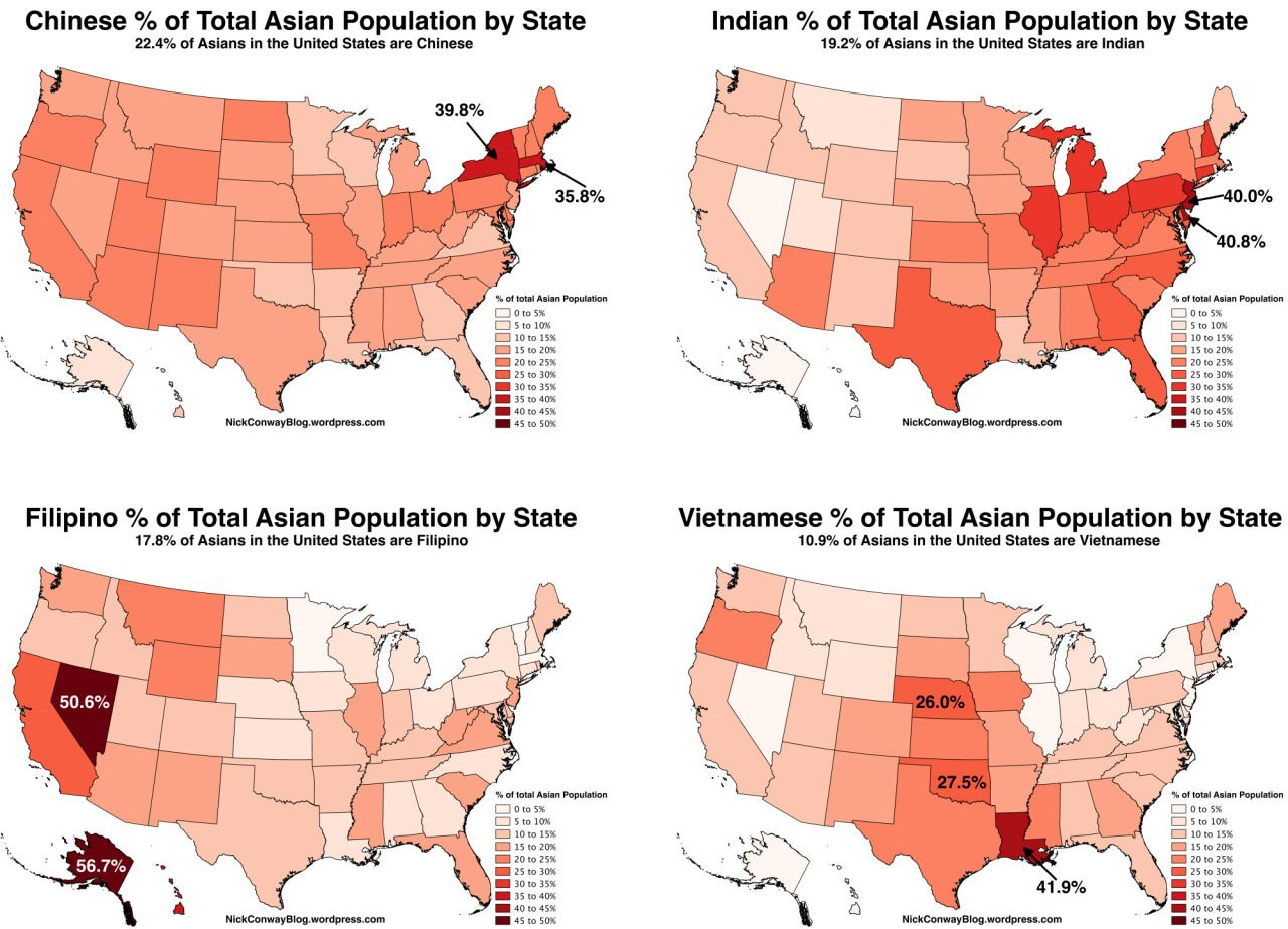 the united in population state Asian