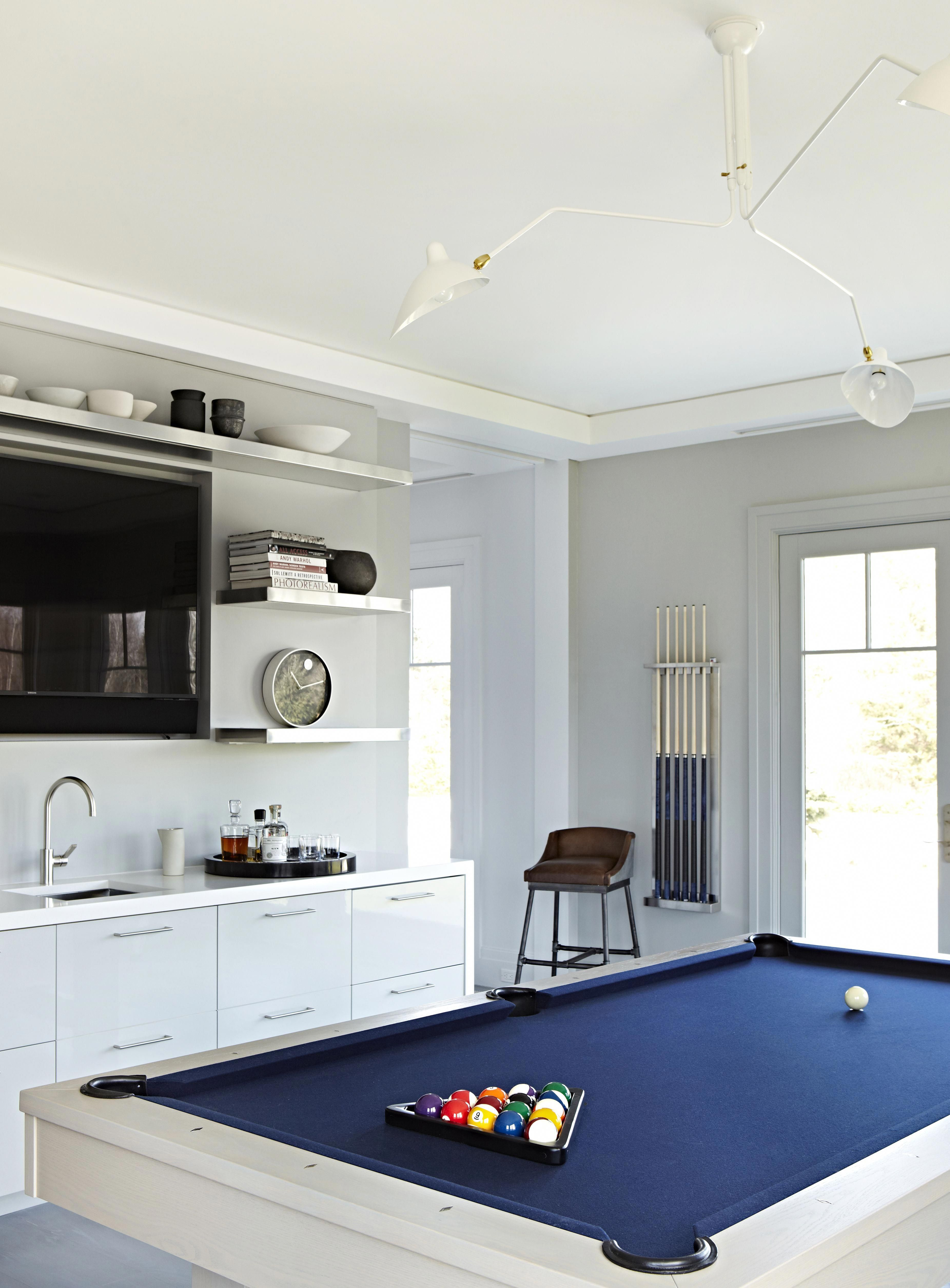 Room Design Online Games: Our Gorgeous Game Room. Love The Modern Features And