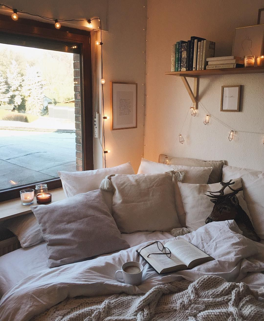 Image May Contain Bedroom And Indoor Cozy Room Bedroom Home Decor Bedroom Bedroom Design