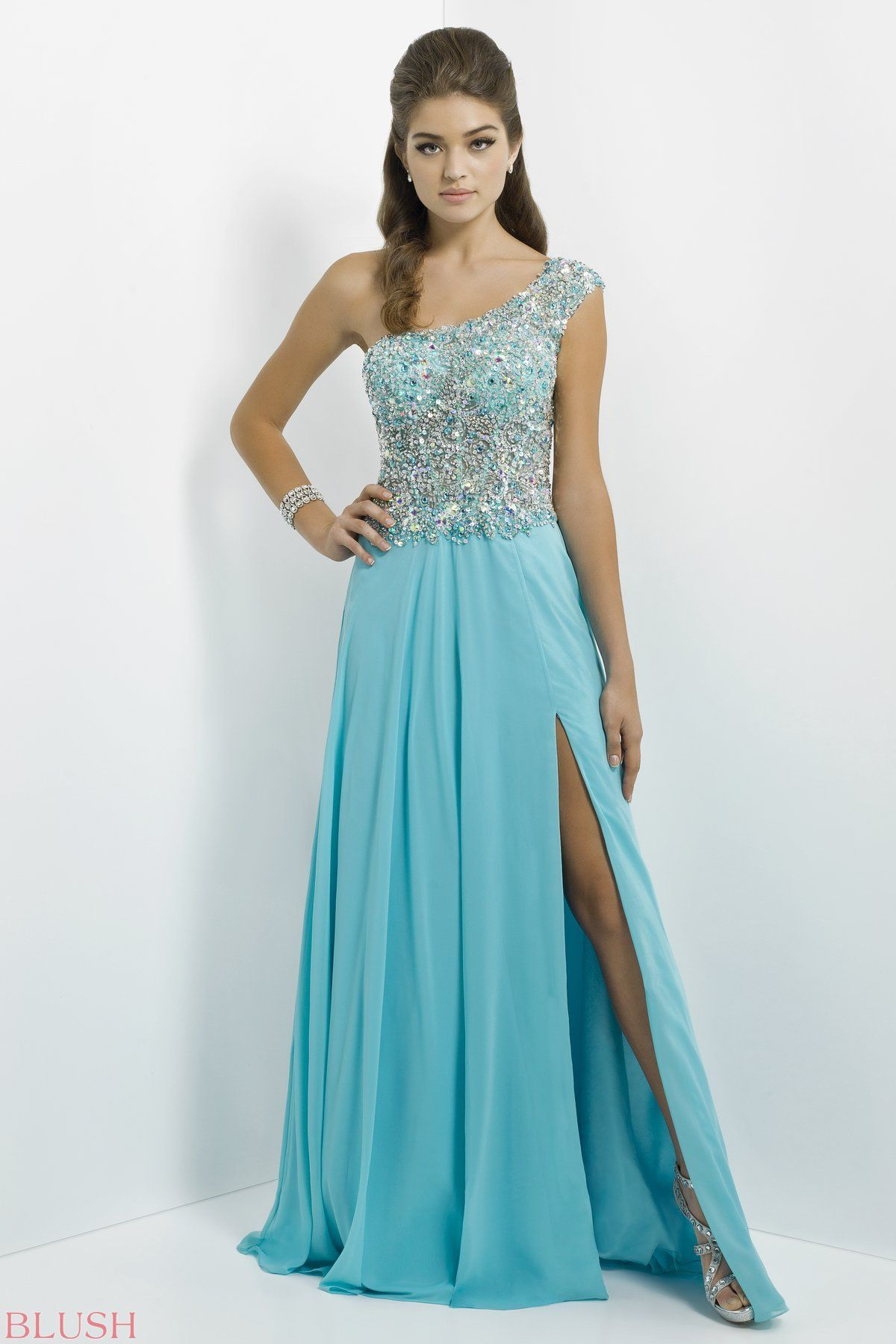 Rock the red carpet in jewels this brilliant oneshoulder has a