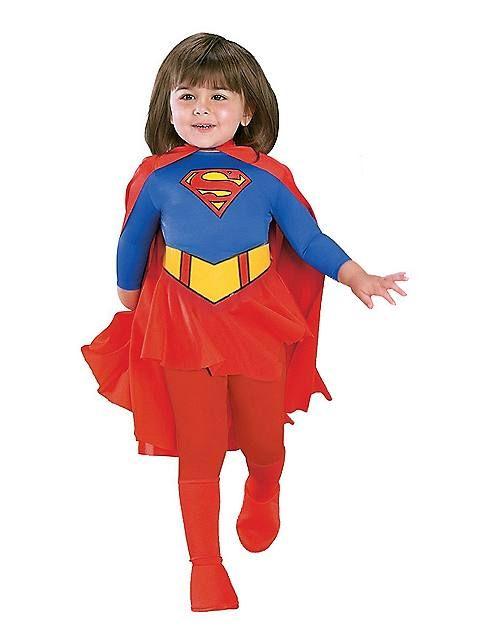 Deluxe Supergirl Toddler Costume Disfraces De Halloween Para Niños 77f69e4c22554