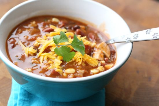 Southwest Chicken and Barley Soup By Perry's Plate