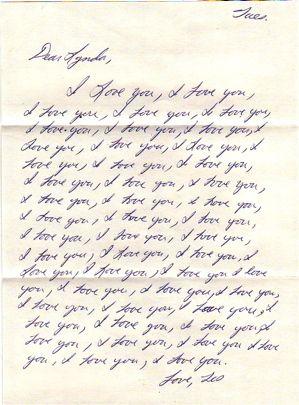 You times 100 love written i 100 I