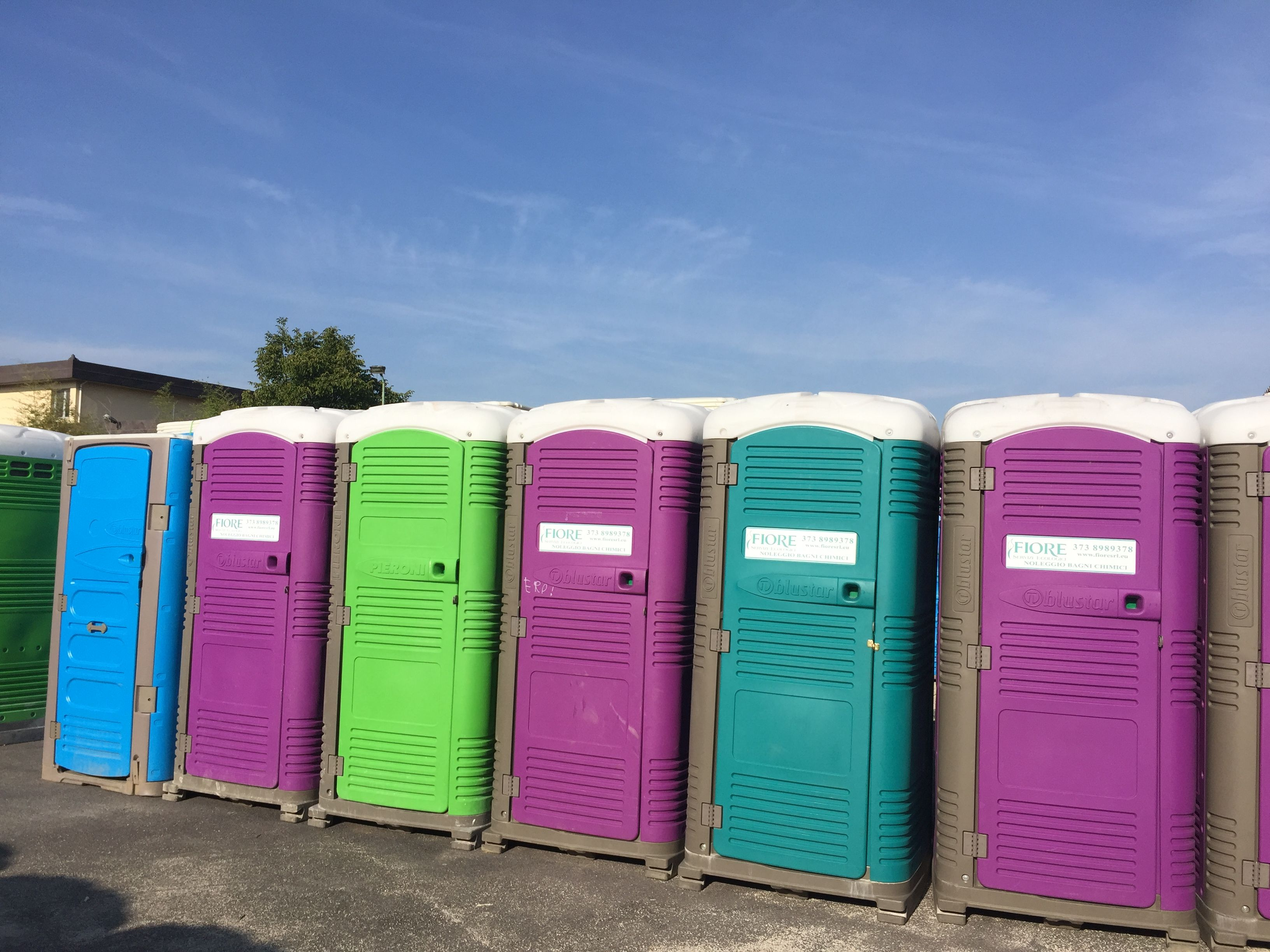 Myblok Portable Toilet Locker Storage Modern
