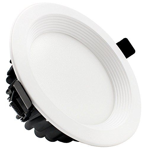 15w 5inch Dimmable Led Retrofit Recessed Light 100w Halogen Equivalent Led Downlight W Baffled Trim With Images Led Ceiling Lights Led Ceiling Recessed Lighting