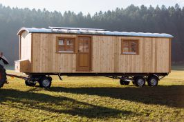 tiny houses unser minihaus auf r dern f r ein autarkes leben bauwagen pinterest minihaus. Black Bedroom Furniture Sets. Home Design Ideas