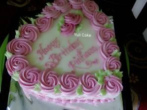 Resep Cake Birthday Bentuk Love Oleh Yuli Janu Resep Kue Kue Ulang Tahun Birthday Party Snacks
