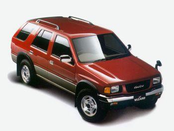 Isuzu Mu Wizard 1991 98 Isuzu Motors Japanese Cars Concept Cars
