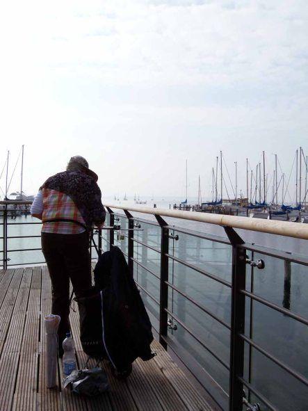 Malreise an die Ostsee - Aquarellieren im Hafen von Rerik (c) Frank Koebsch (1) #Ostsee #Rerik #Aquarell #Malreise #Aquarellkurs