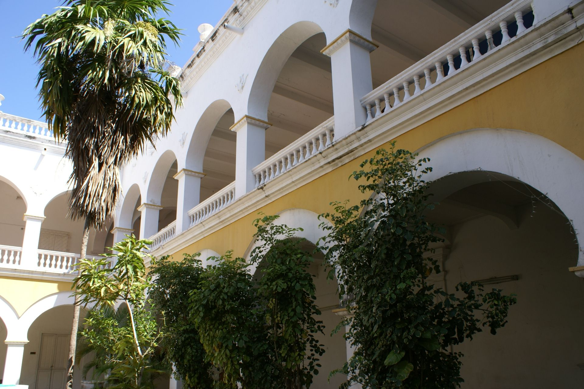 Universidad de Cartagena, Claustro de de la Merced