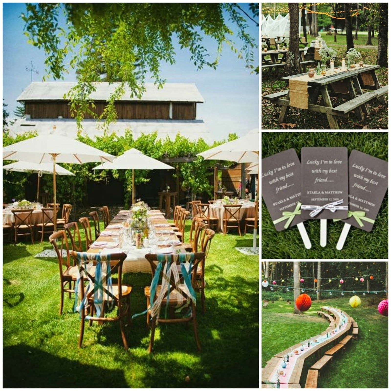 Spring Wedding Reception Ideas: Reception Setup For Summer Wedding