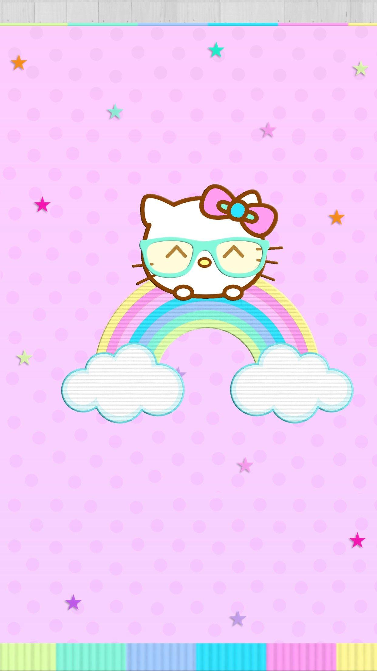 Pin By Kristinaallure On Beautiful Hello Kitty Backgrounds Hello Kitty Pictures Hello Kitty Wallpaper