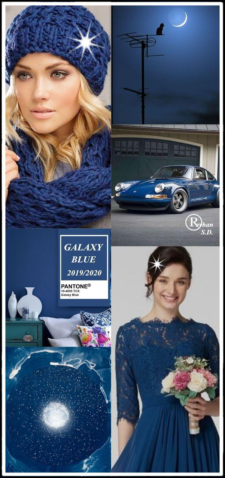 '' Galaxy Blue '' Pantone – Autunno / Inverno 2019/2020 Colore- di Reyhan S.D #panto …