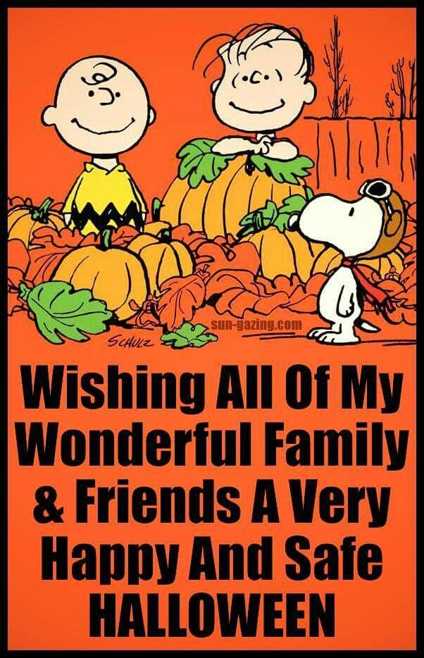 Wishing all my..... Happy halloween quotes, Halloween