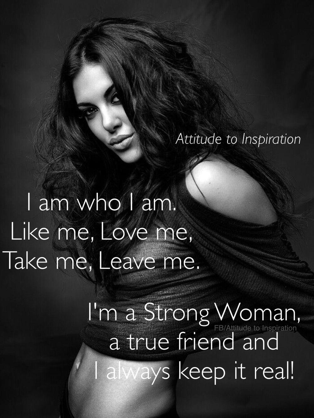 FB/Attitude to Inspiration.. Strong Woman Pinterest