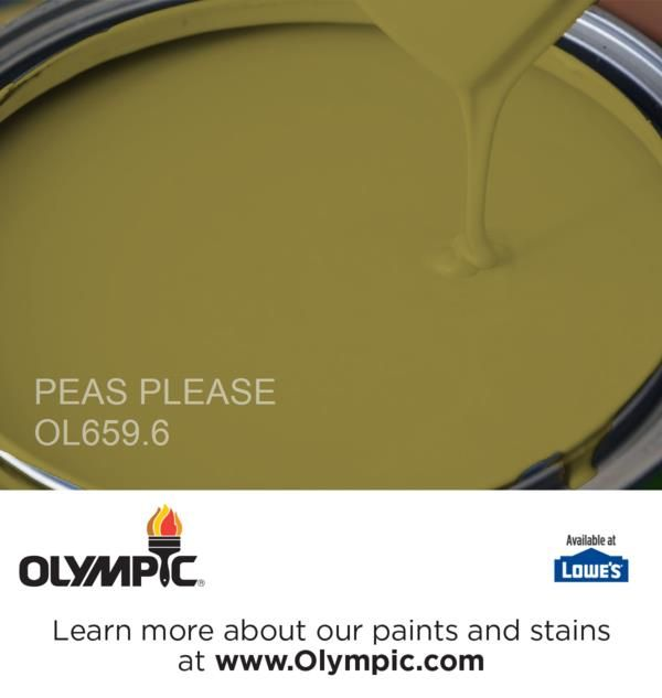 Peas Please Ol659 6 Is A Part Of The Greens Collection By Olympic Paint
