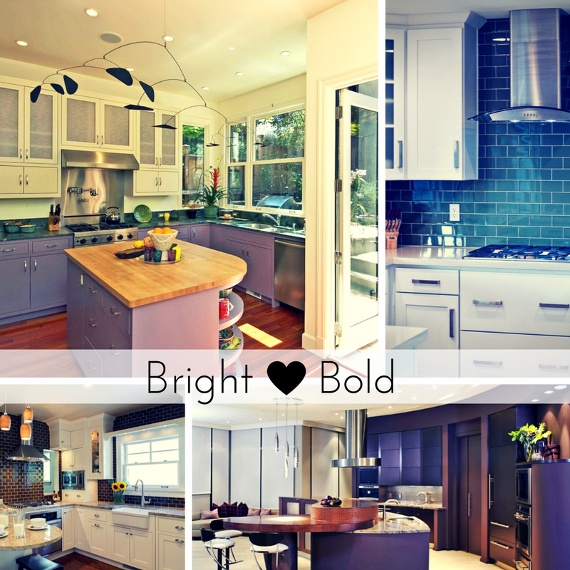 Bright & Bold Kitchens