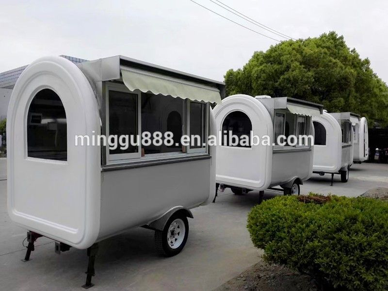 Heavy Duty Market Stall/van/truck Mobile Catering Food Trailer For