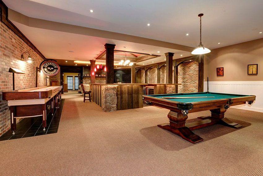 125 Best Man Cave Ideas (Furniture U0026 Decor Pictures). Shuffleboard TablePool  ...