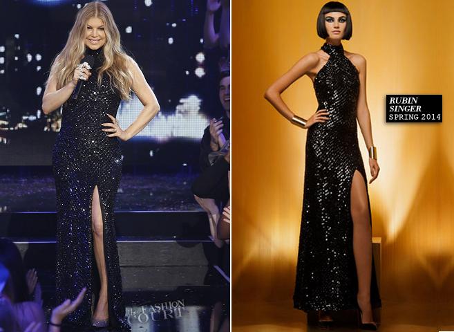 Fergie in Rubin Singer | Dick Clark's New Year's Rockin' Eve