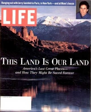 "This Land is Our Land - Life Magazine, October 1, 1993 issue - Visit http://www.oldlifemagazines.com/the-1990s/1993/october-01-1993-life-magazine.html?q to purchase this issue of Life Magazine. Enter ""pinterest"" for a 12% discount at checkout - This Land is Our Land"
