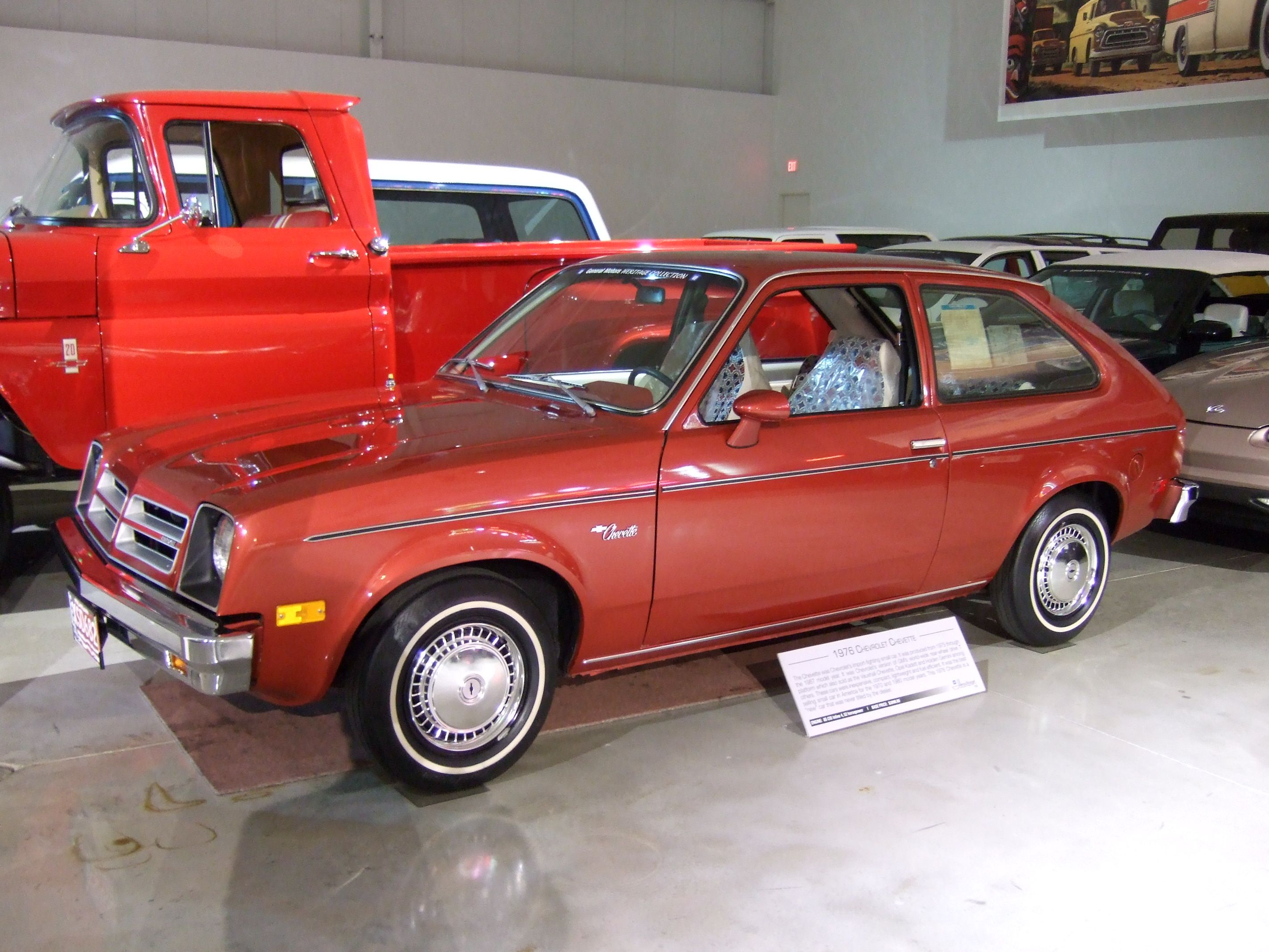 photo: CHEVY CHEVETTE | Worst Cars Ever | Pinterest | Rear wheel ...