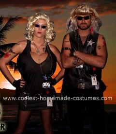 Coolest Dog The Bounty Hunter And Wife Beth Chapman Costumes Dog