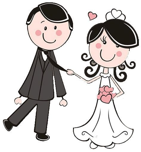bride and groom dibujos clipart digi stamps wedding novios boda cute rh pinterest com bride and groom clipart cutouts bride and groom clipart free