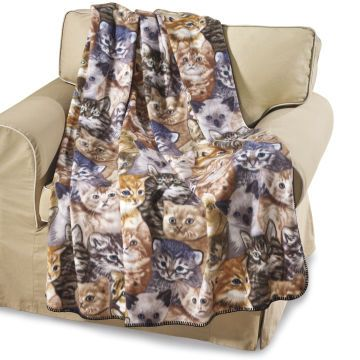 Kitty Fleece Throw Blanket little l in 2018 Pinterest Home