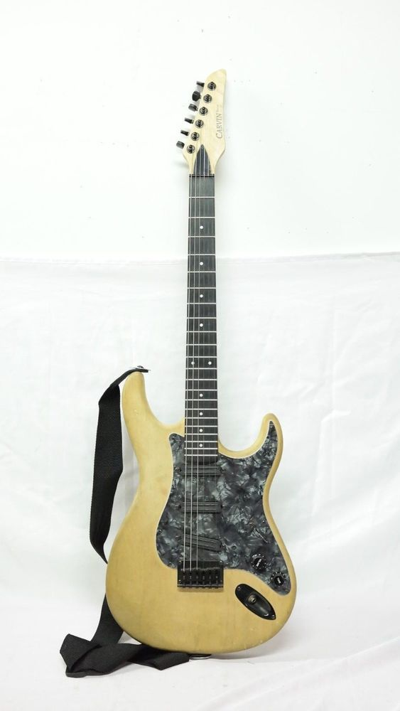 Carvin Custom Build Stratocaster Style In Case Carvin Guitar Electric Guitar
