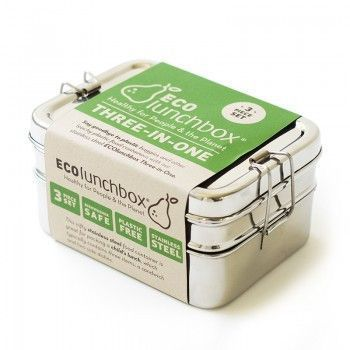 Stainless 3-in-One Bento Box