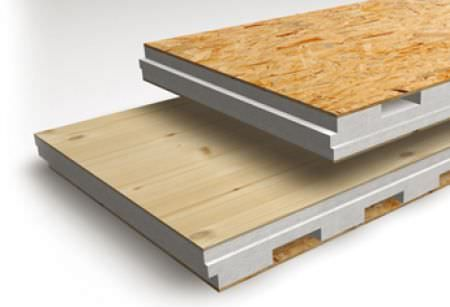 Roof Insulating Sandwich Panel Osb Facing Expanded Polystyrene Insulation In 2020 Polystyrene Paneling Osb