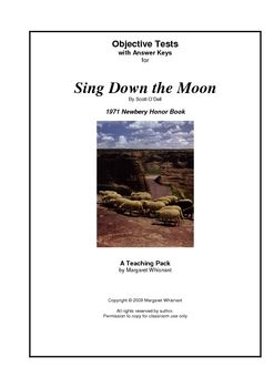 sing down the moon chapter by chapter objective tests teaching guide rh pinterest com Sing Down the Moon Activities Sing Down the Moon Activities