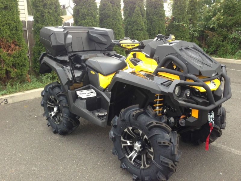 us 12 2013 can am outlander xmr 1000 r eps rear. Black Bedroom Furniture Sets. Home Design Ideas
