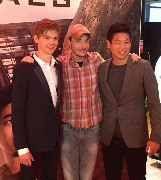 Thomas, Wes, and Ki Hong