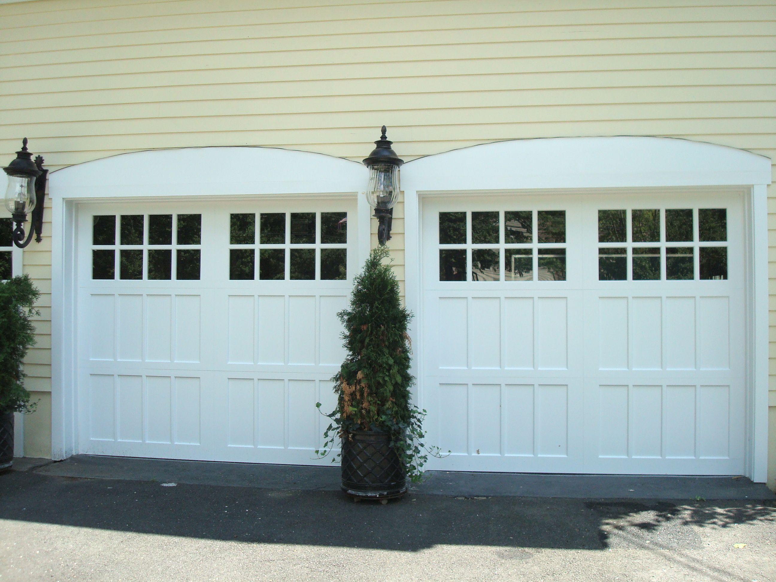 Model T308s Carriage Style Garage Doors Cape Cod Style House Garage Doors