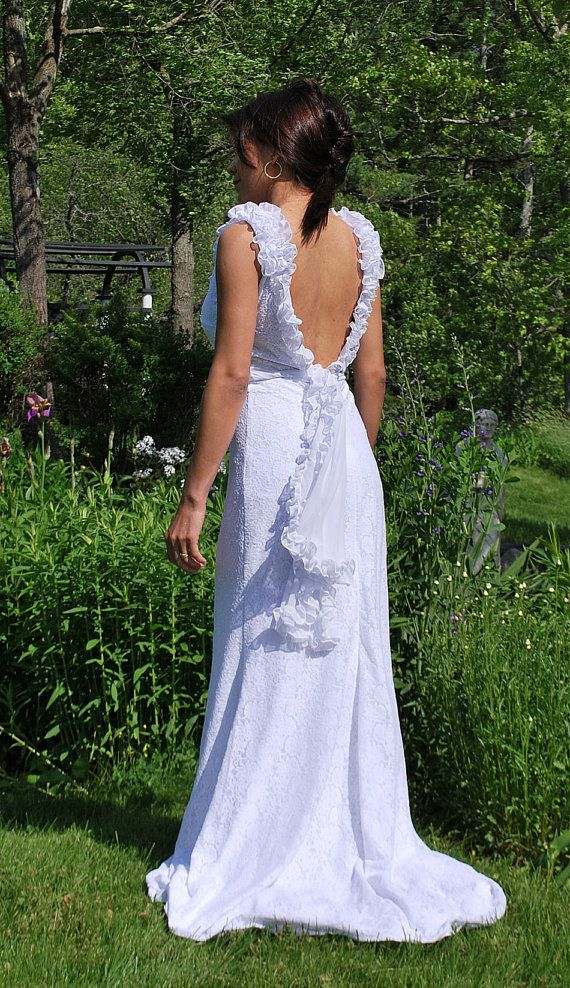 Isabelle perfect wedding dress for a beach wedding by SashCouture1, $450.00