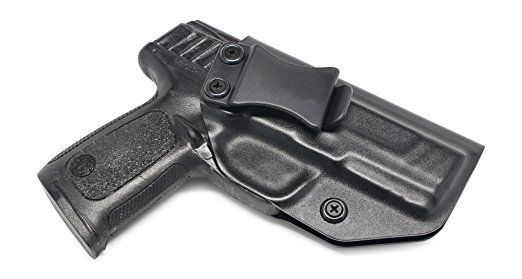 Smith /& Wesson SD9VE//SD40VE right handed black kydex IWB concealment holster