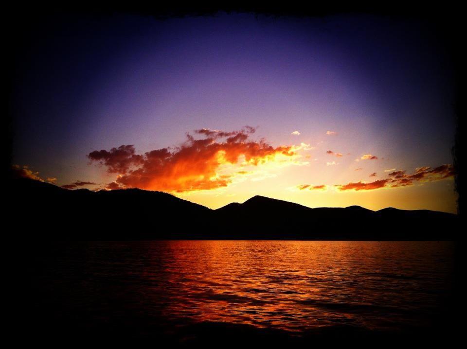 Sunset At Jordanelle Reservoir In Park City Utah Www Alpineskiproperties Com Park City Sunset Sunrise Sunset