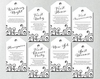 instant download bridal shower wine gift basket tags are you looking to give a truly unique gift for the bride and groom to be