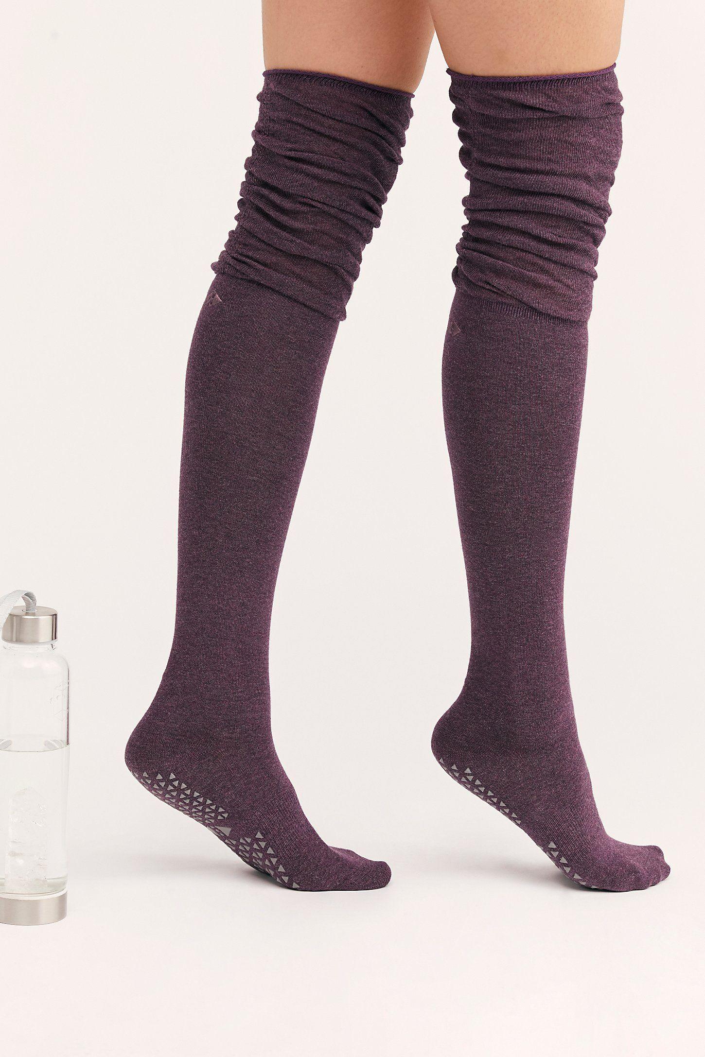 Cotton Blend Toeless Ribbed Over the Knee Socks|4-9