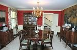 Dining Room of 1942 Colonial in Belle Haven, Virginia