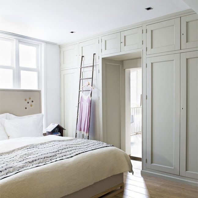 Built In Closet, like the way it frames the doorway, perfect for ...